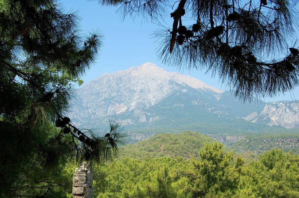 Гора в кемере тахталы фото